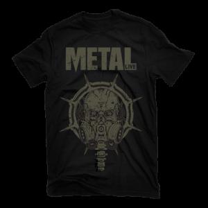 Camiseta Metal Live 2021